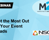M2I + NSCA: Get the Most Out of Your Event Leads